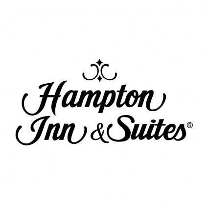 free vector Hampton inn suites