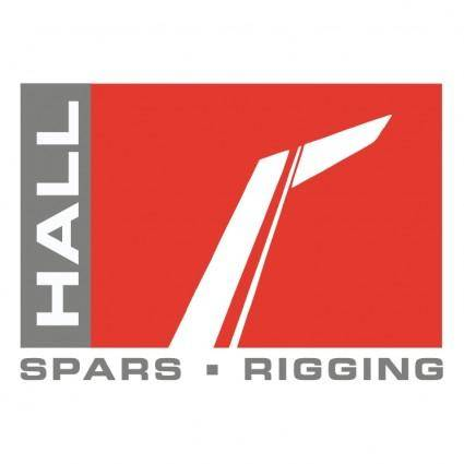 free vector Hall spars rigging