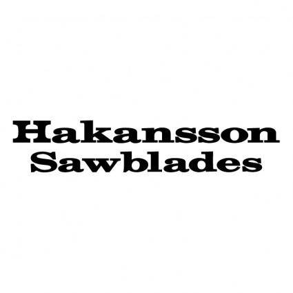Hakansson sawblades