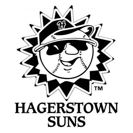 free vector Hagerstown suns