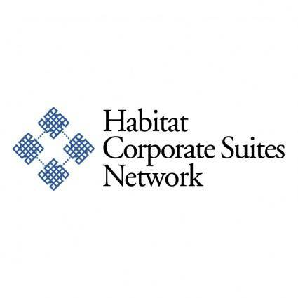 free vector Habitat corporate suites network