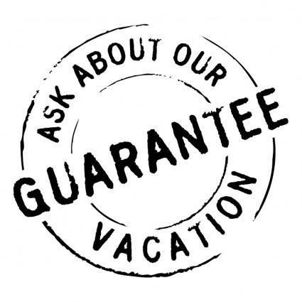 free vector Guarantee 0