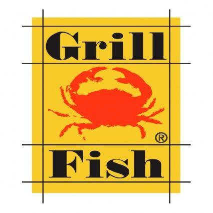 free vector Grill fish