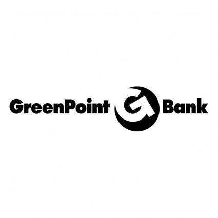 free vector Greenpoint bank