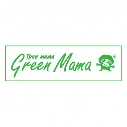 free vector Green mama 0