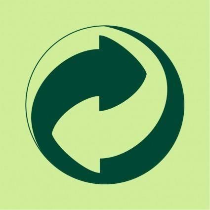 free vector Green dot