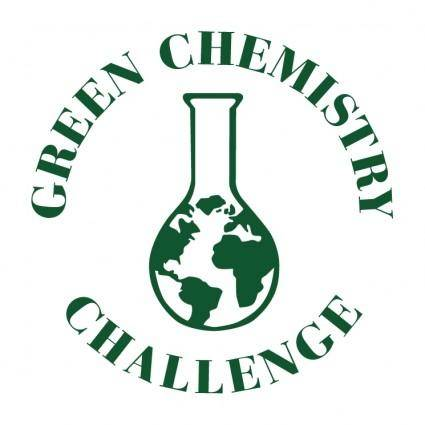 free vector Green chemistry challenge