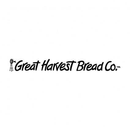 free vector Great harvest bread