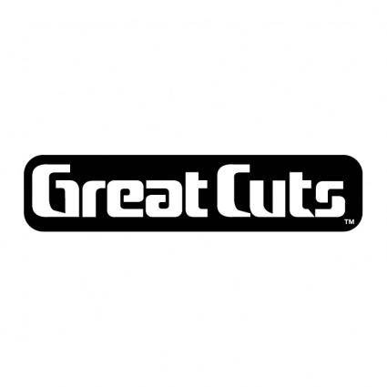 free vector Great cuts