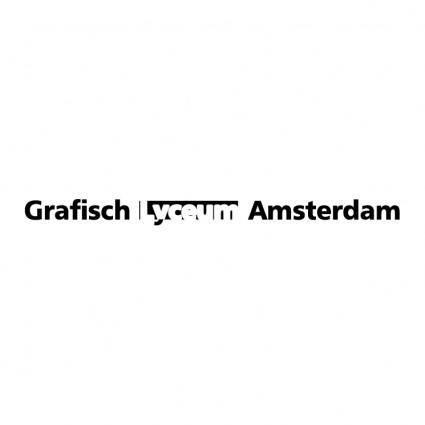 free vector Grafisch lyceum amsterdam