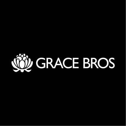 free vector Grace bros