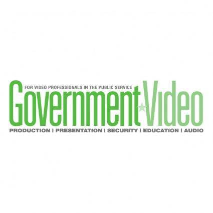 free vector Government video