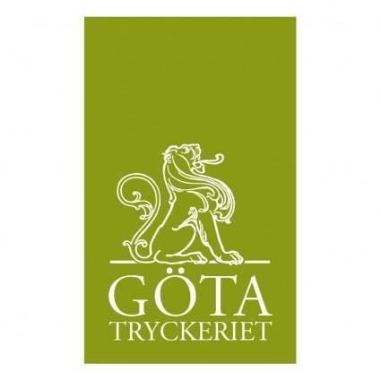 free vector Gotatryckeriet