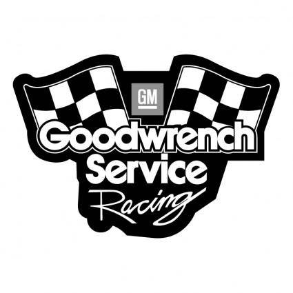 free vector Goodwrench service racing