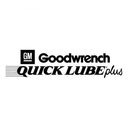 free vector Goodwrench quick lube plus
