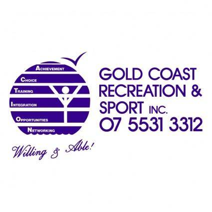 free vector Gold coast recreation sport