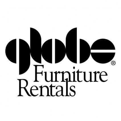 free vector Globe furniture rentals
