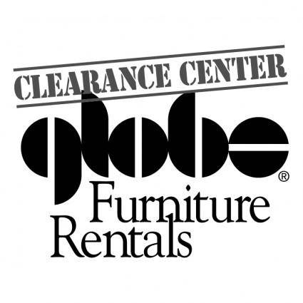 free vector Globe furniture rentals 0