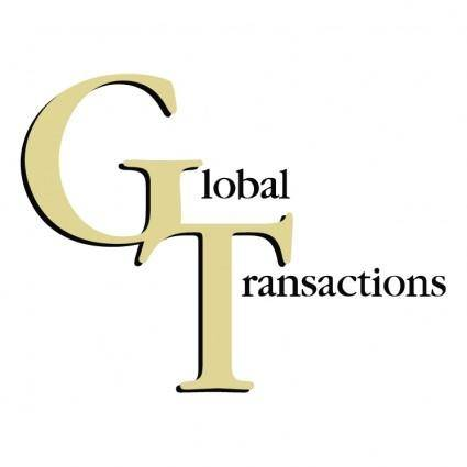 free vector Global transactions