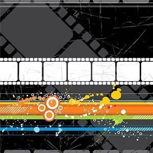 free vector Movie theme vector