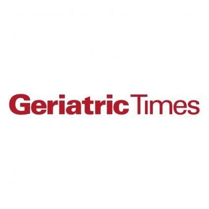 Geriatric times