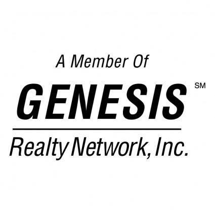 free vector Genesis realty network