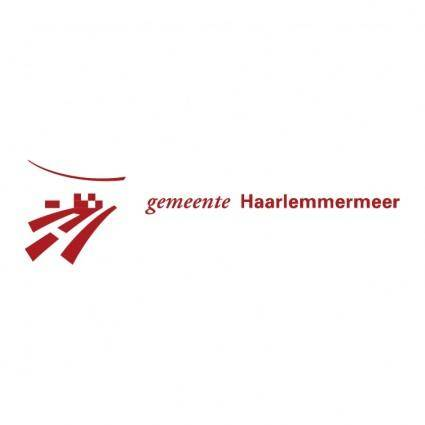 free vector Gemeente haarlemmermeer