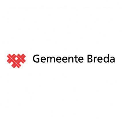 free vector Gemeente breda