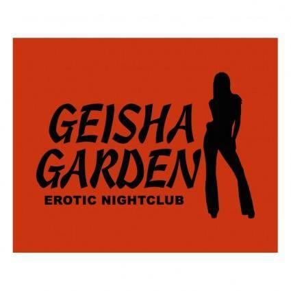 free vector Geisha garden