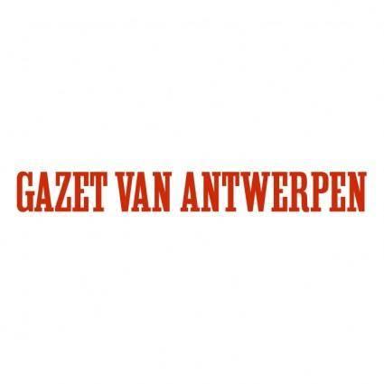 free vector Gazet van antwerpen