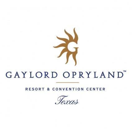 Gaylord opryland 0