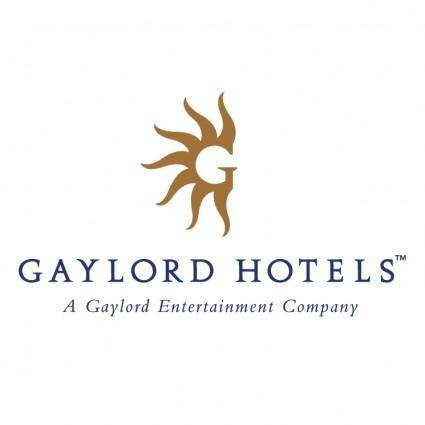 free vector Gaylord hotels