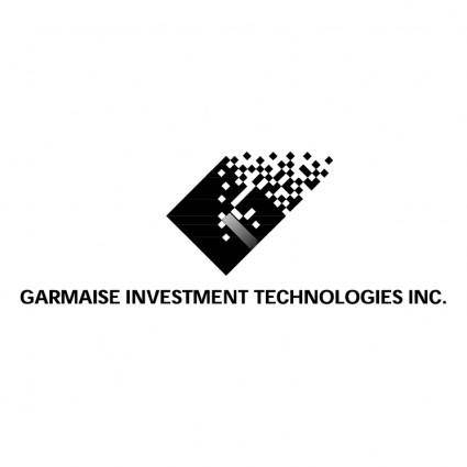 free vector Garmaise investment technologies
