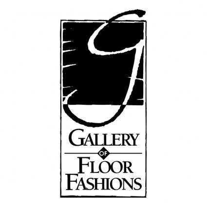 free vector Gallery of floor fashions
