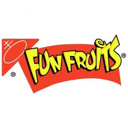 free vector Fun fruits