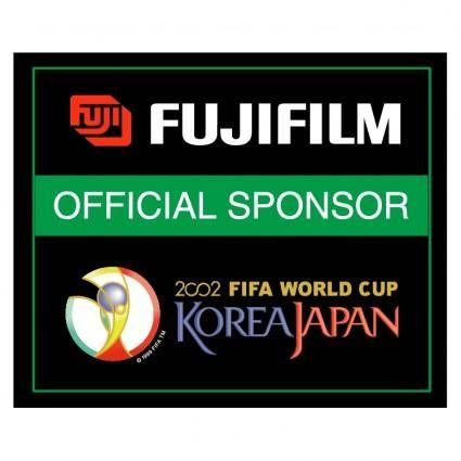 Fujifilm 2002 world cup sponsor