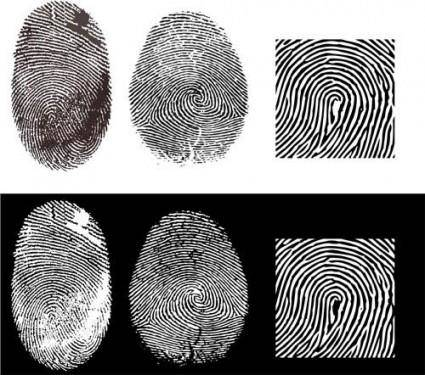 free vector Fingerprint vector 2