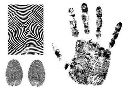 free vector Fingerprint vector 3