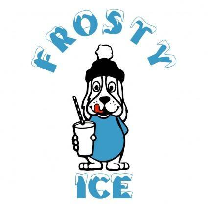 free vector Frosty ice