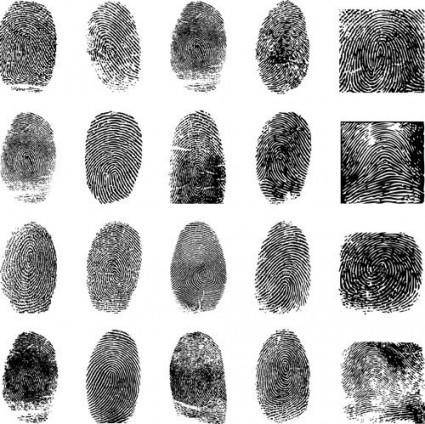free vector Fingerprint vector 4