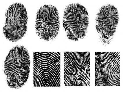 free vector Fingerprint vector 1