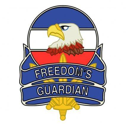 free vector Freedoms guardian