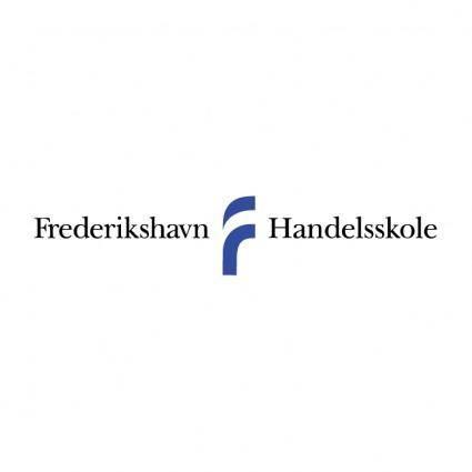 free vector Frederikshavn handelsskole