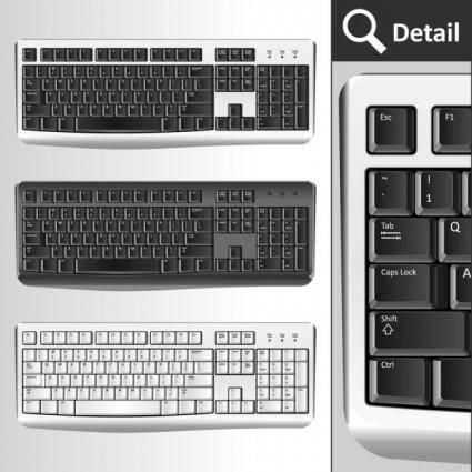 Computer accessories 02 vector
