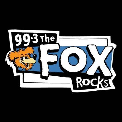 free vector Fox rocks