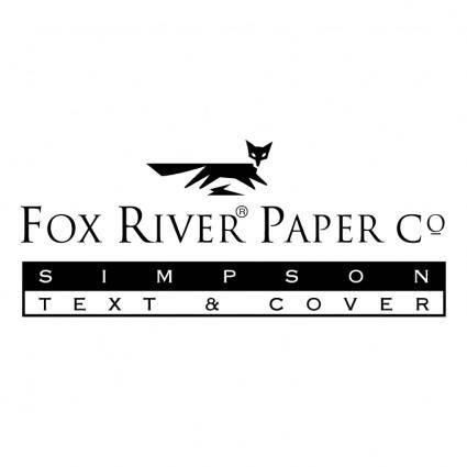 free vector Fox river paper