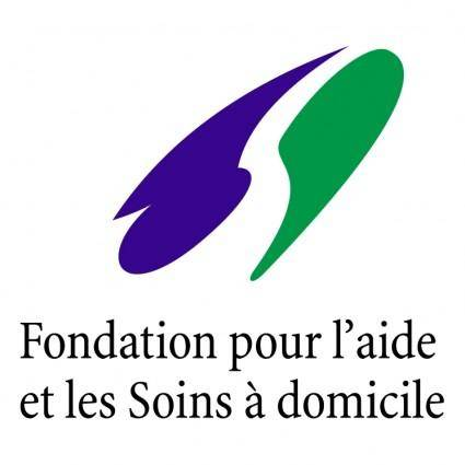 free vector Foundation pour laide et les soins a domicile