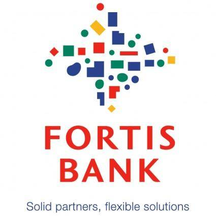 free vector Fortis bank 0