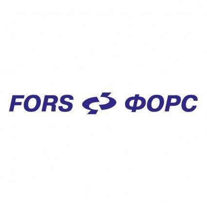 Fors holding