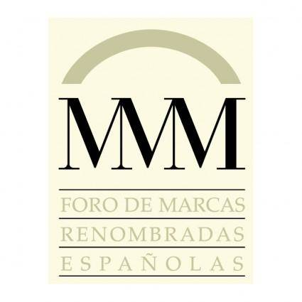 free vector Foro de marcas